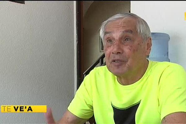 Richard Van Sam, premier journaliste sportif de la TV en Polynésie