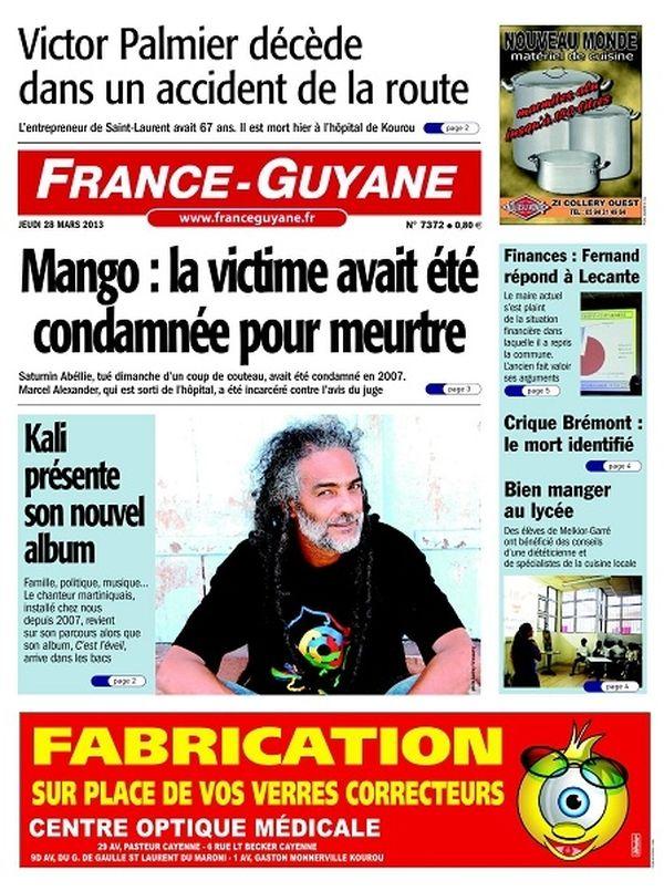 France Guyane 28 mars 2013