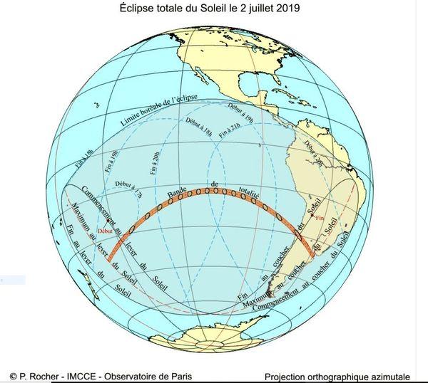 Éclipse solaire visible en Polynésie Française