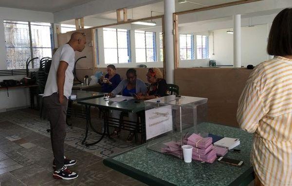Législative partielle 7eme circonscription bureaux vote Saint-Louis 300918
