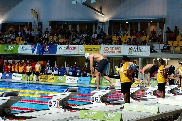 PNG 2015 relais 4 fois 100m nage libre de Tahiti