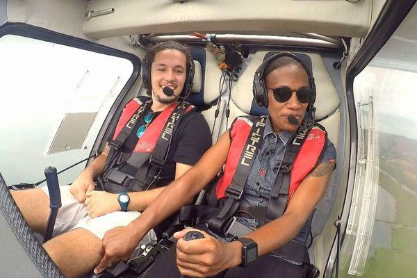 Rosy Goromara, pilote d'ULM, Koné