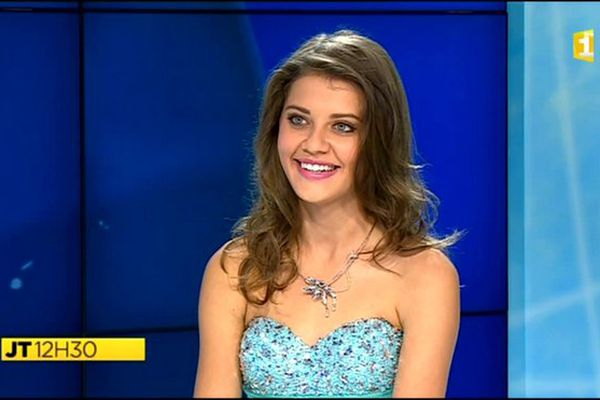 Miss Réunion 2015 : itw de Floriane Gonthier, candidate N°4