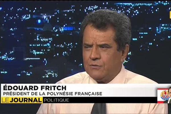 Edouard Fritch  président