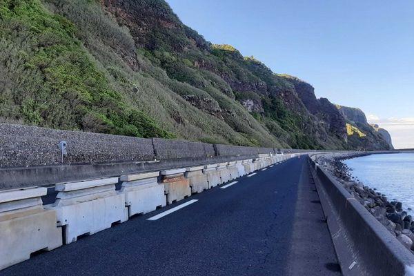 route du littoral fermée canal bichique 240121