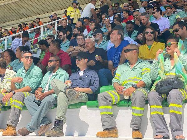 Mobilisation salariés et sous-traitants Vale hippodrome 27 novembre 2020