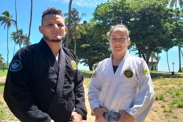 Aurélie Le Vern, championne du monde Jiu-Jitsu brésilien