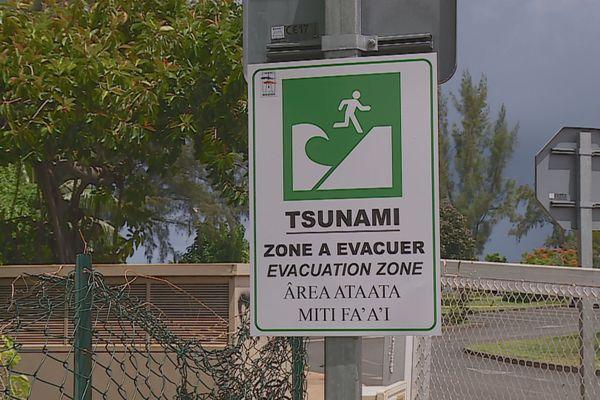 Une nouvelle signalisation tsunami