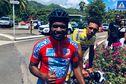 Mickaël Stanislas guide l'équipe de Martinique sur le Tour cycliste de Guadeloupe