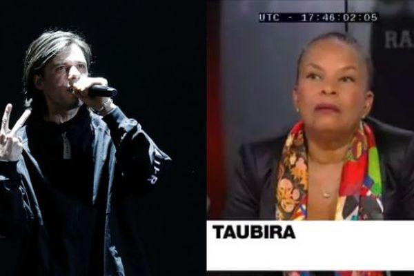 Orelsan et Taubira