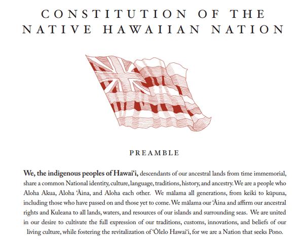 Constitution Hawaï