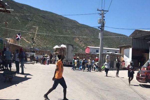 Haiti/République Dominicaine frontière