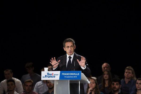 Nicolas Sarkozy à Franconville