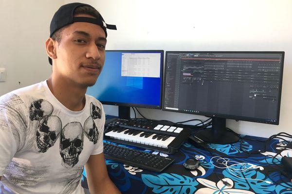 Nuka, artiste calédonien qui a fait le beat d'un morceau de Jason Derulo