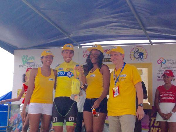 Maillot jaune tour cycliste 2015