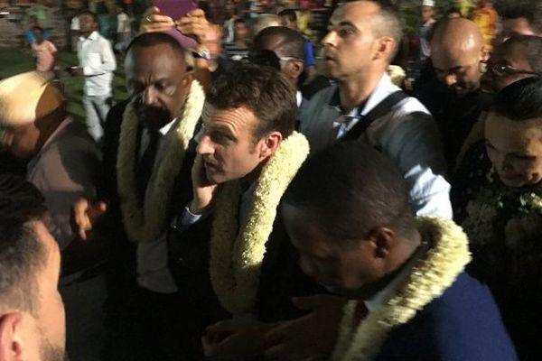 Macron à Mayotte