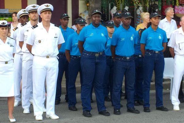 Cérémonie commémoration 8 mai à Cayenne