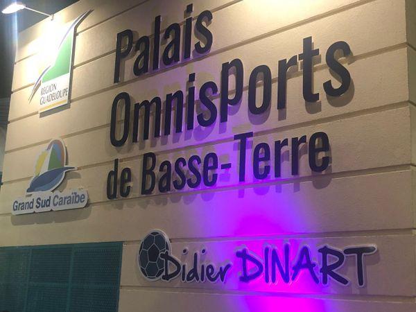 Palais omnisports de Basse-Terre Didier Dinart