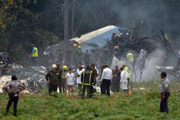 Crash d'avion à la Havane