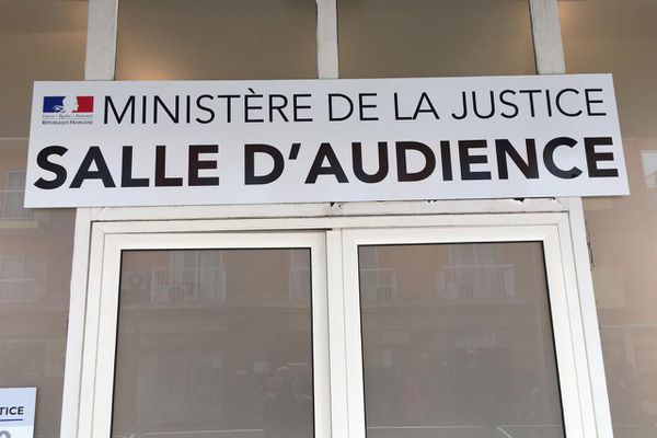 Salle d'audience du tribunal correctionnel de Cayenne 26 11 19