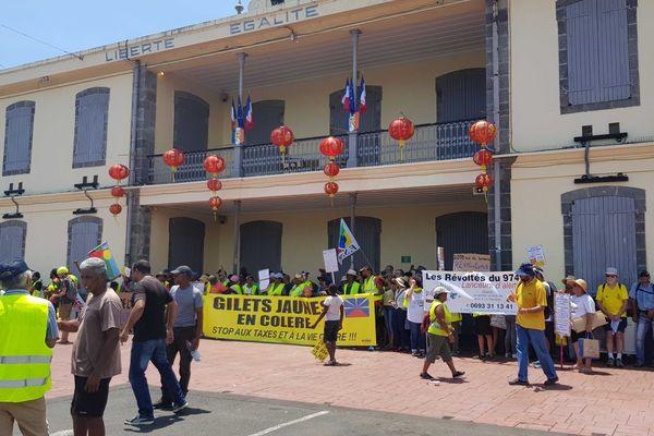 Les Gilets Jaunes manifestent à Saint-André