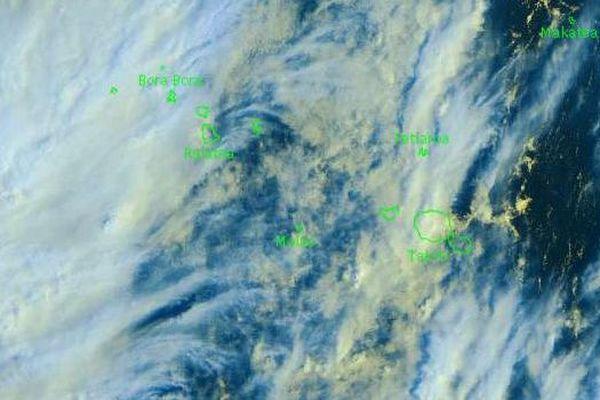 Temps très instable sur les îles de la Société et les Australes