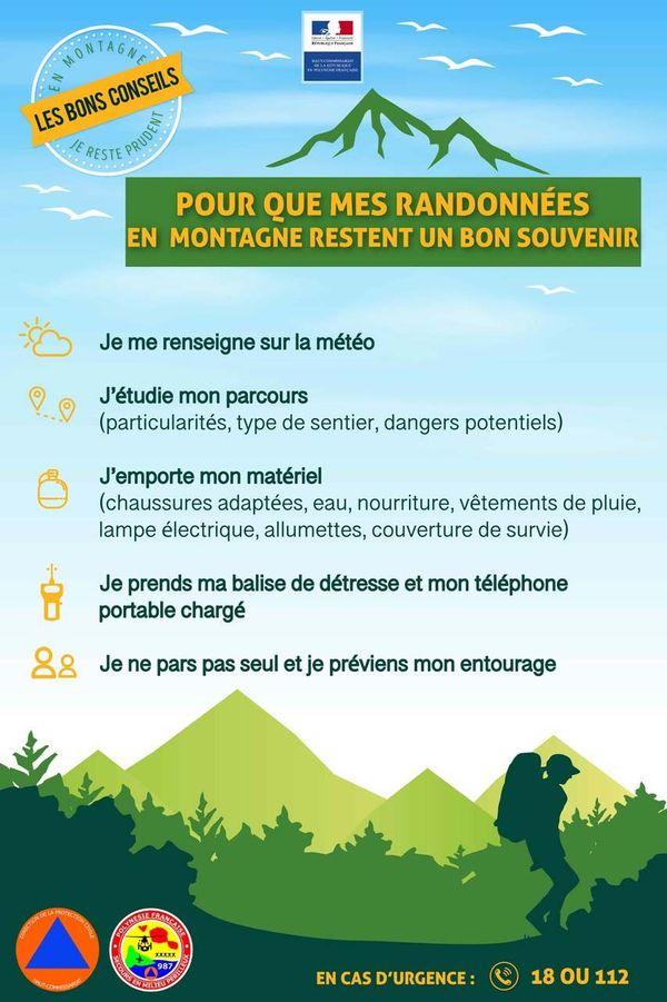 règles de sécurité en montagne