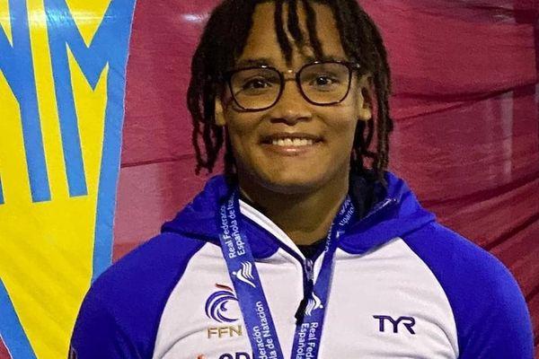 Analia Pigrée championne de France en dos, en or aux championnats d'Espagne