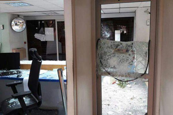 CAF PaP vandalisée