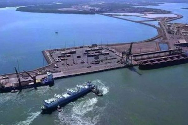 Le port de Darwin