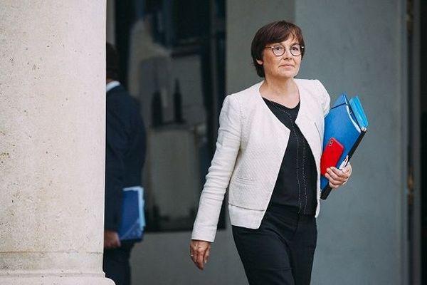 Annick Girardin à la sortie du conseil des ministres le 24 avril 2019.