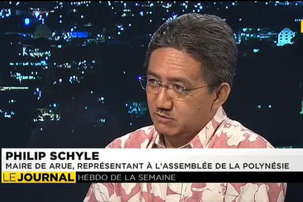 L'invité du journal : Philip Schyle, maire de Arue