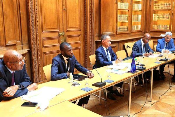 Les élus guyanais rencontrent Jean-Michel Blanquer