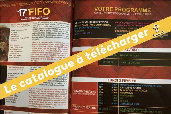 Téléchargez le catalogue du FIFO 2020