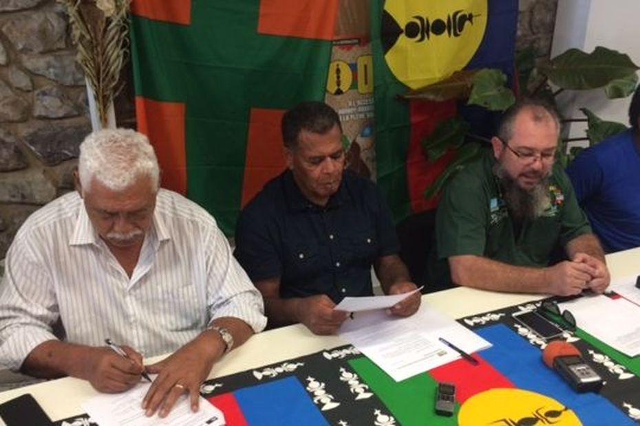 Le FLNKS veut convaincre en 2020 - Nouvelle-Calédonie la 1ère