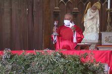 La messe des Rameaux à la Cathédrale de Nouméa sans public pour cause de confinement