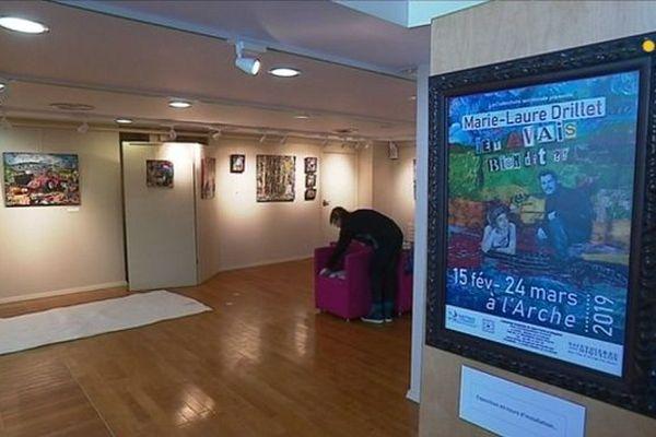 Marie-Laure Drillet expose au musée de l'Arche