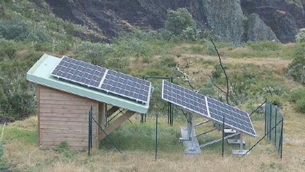 Installation solaire à Marla