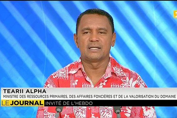 Tearii Alpha : « J'ai été surpris par l'annonce du groupe Carrefour de ne plus faire appel aux maraîchers locaux. »