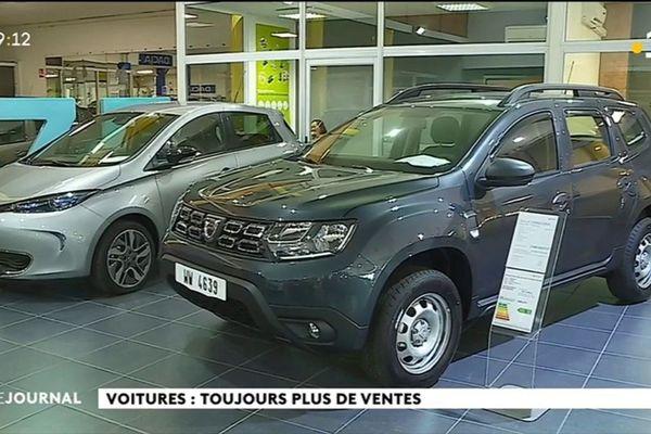 les ventes de véhicules repartent à la hausse