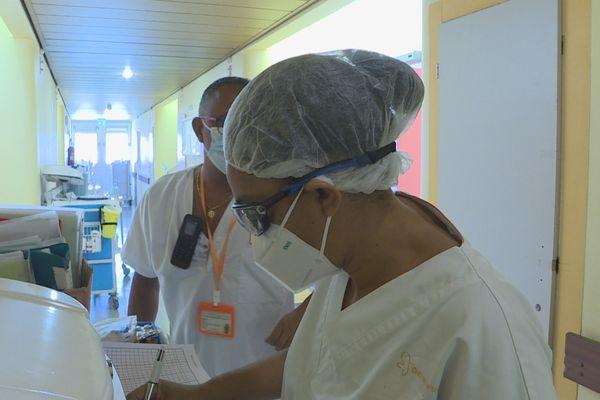 Personnel soignant à l'hôpital