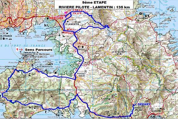 Tour de Martinique étape 9