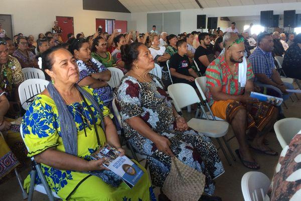 Premier meeting de L'Eveil océanien, Vallon-Dore, 6 avril 2019