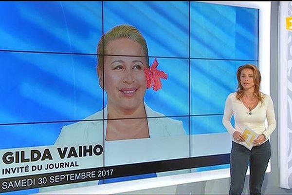 Gilda Vaiho annonce son adhésion au mouvement En Marche.