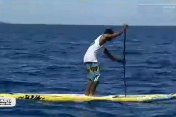 Paddle : Nuihitinui Buillard glisse de compétition en compétition