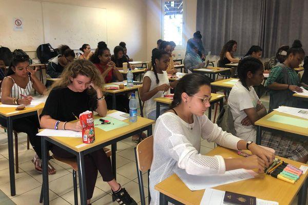 Bac 2019, l'épreuve de philo au lycée du Grand Nouméa.