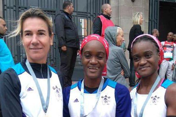 L'équipe féminine du GAC (Gosier Athlétic Club) championne de France du semi-marathon