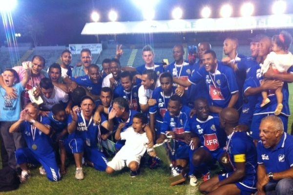 Football : les tamponnais remportent pour la 7ème fois la coupe de la Réunion