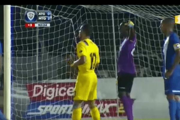 Martinique-Antigua coupe des nations de football de la Caraibe