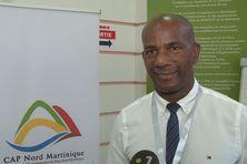 Bruno-Nestor Azérot, président de CAP Nord, maire de Sainte-Marie (mercredi 15 juillet 2020).